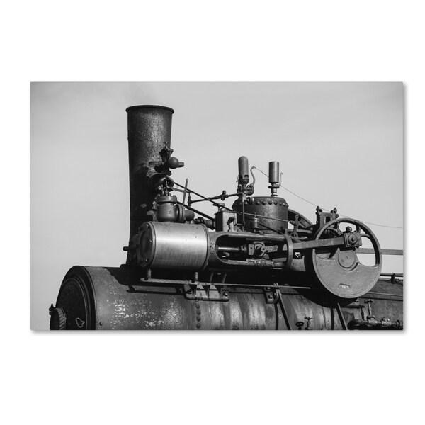 Jason Shaffer 'Steam Engine' Canvas Art 24228897