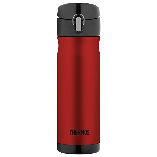 Thermos 16 Ounce Stainless Steel Commuter Bottle (Cranberry) 24253502