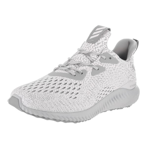 Adidas Women's Alphabounce AMS Grey Mesh Running Shoes 24260369