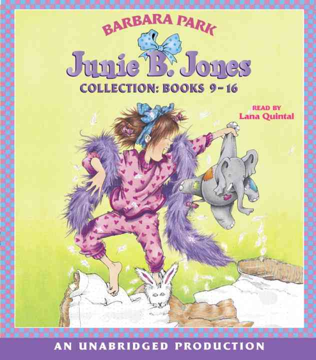 Junie B. Jones Collection: Books 9-16 (CD-Audio)