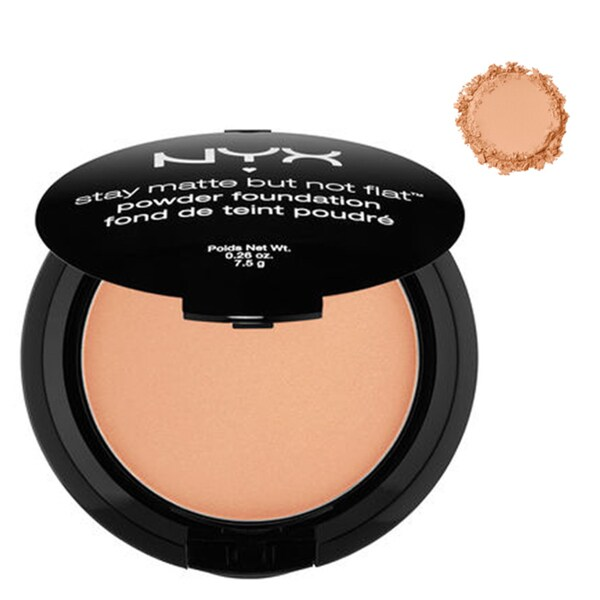 NYX Stay Matte But Not Flat Tan Powder Foundation 24294054