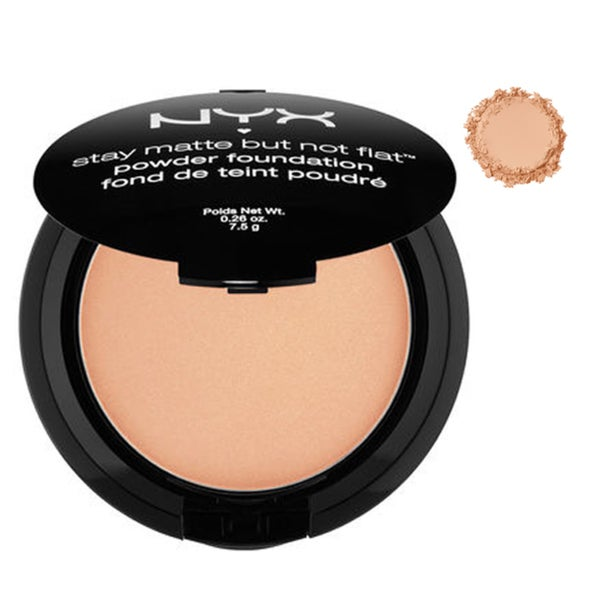 NYX Stay Matte But Not Flat Powder Foundation Medium Beige 24294055