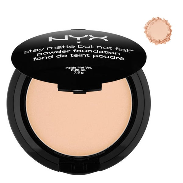NYX Stay Matte But Not Flat Powder Foundation (Natural) 24294057
