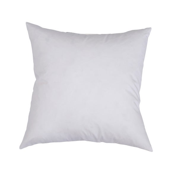 Downlite Feather and Down Decorator Euro Square Throw Pillow Insert 26x26(As Is Item) 24295634