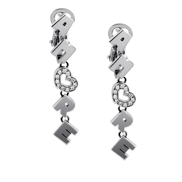 Pasquale Bruni Women's 18k White Gold 1/10ct TDW White Diamond Amore Earrings (F-G, SI1-SI2) 24295913