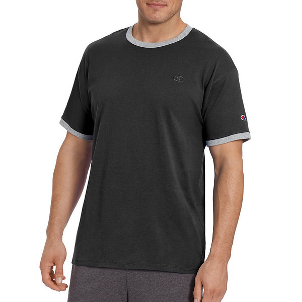 Champion Men's Classic Jersey Cotton Ringer Tee 24307474