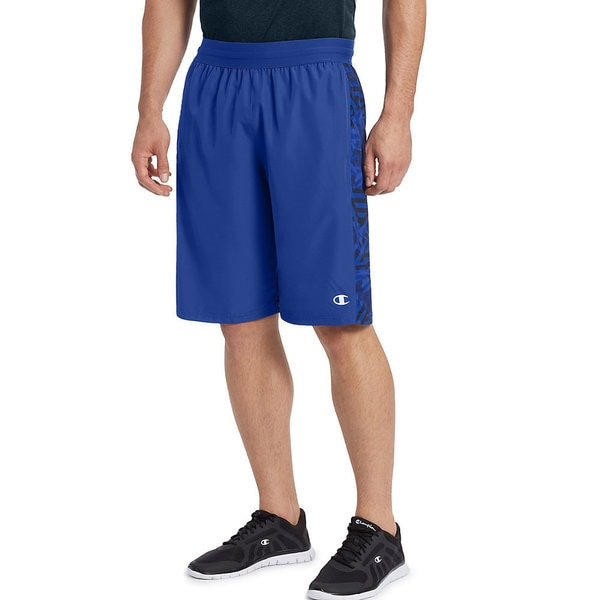 Champion Men's Printed Crossover 2.0 Blue Shorts 24308586