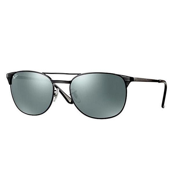 Ray-Ban Men's RB3429M 002/40 55 Square Metal Black Grey Sunglasses 24345598
