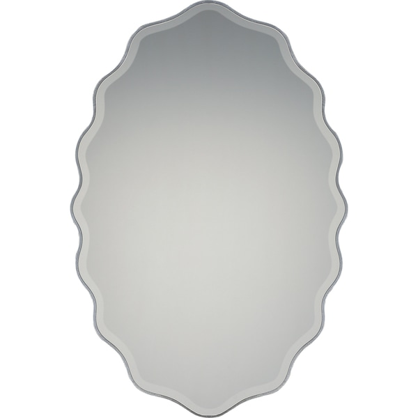 Quoizel Artiste Silver-tone Resin and Glass Large Mirror 24346600