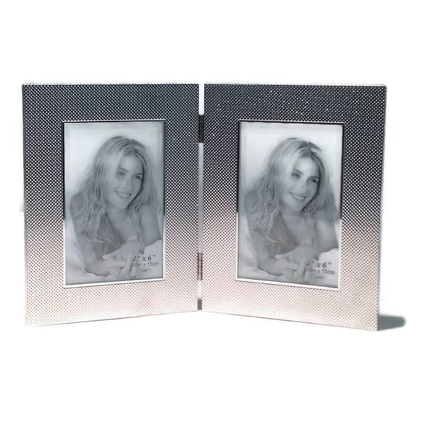 "Elegance Kaylene 4x6"" Double Photo Frame 24351616"