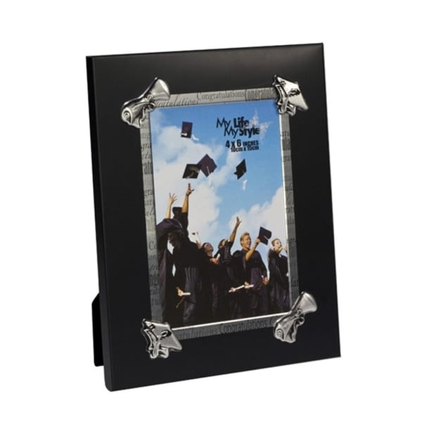 "Elegance Graduation Photo Frame 4x6"" 24351636"