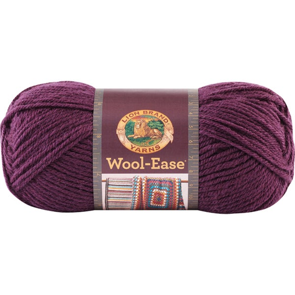 Wool-Ease Yarn -Eggplant 24360513