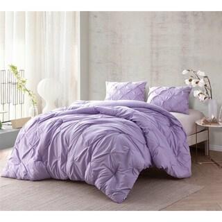 BYB Orchid Petal Pin Tuck Comforter Set