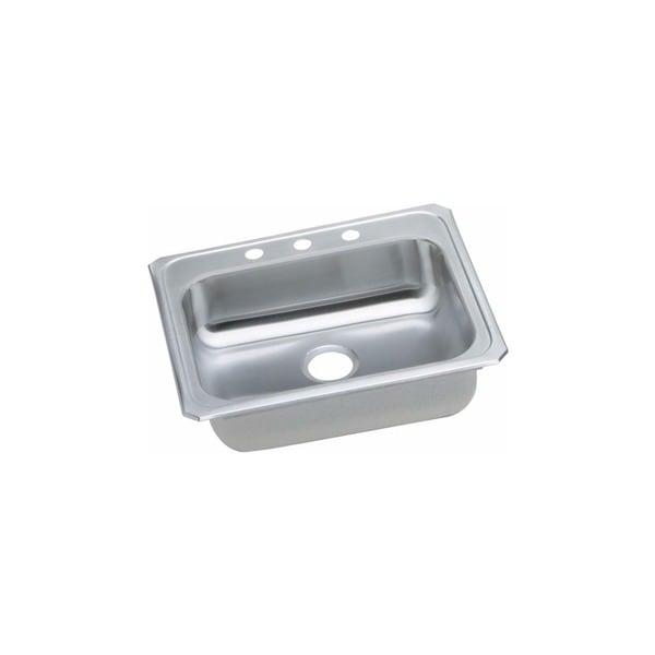 Elkay Celebrity Drop-in Brushed Satin Steel GECR25211 Kitchen Sink 24368569