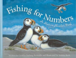 Fishing for Numbers: A Maine Number Book (Hardcover)