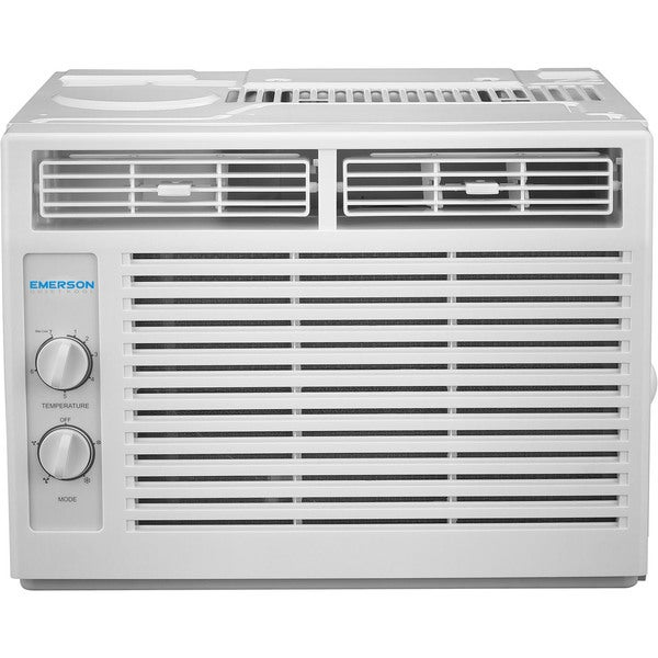 Emerson Quiet Kool 5,000 BTU 115V Window Air Conditioner with Mechanical Rotary Controls 24398271