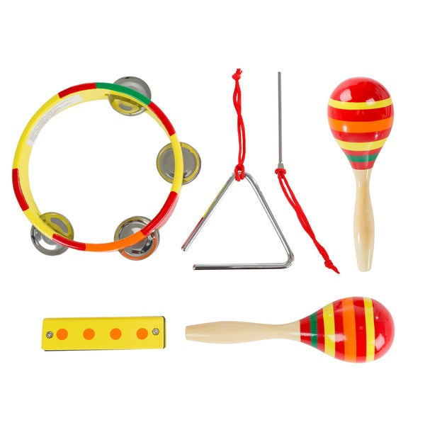 Hey! Play! Kids Percussion Musical Instruments Toy Set 24400677