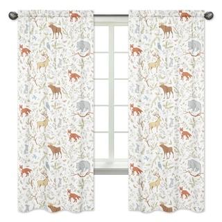 Toile Black White Empat Inch Sheer Curtain Panels Free