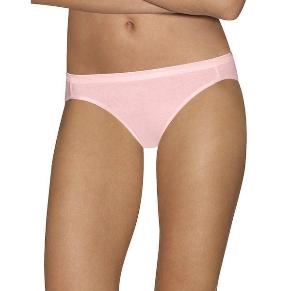 Hanes Women's Ultimate Comfort Cotton Bikini Panties (Pack of 5) 24411649