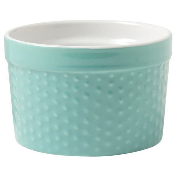 Kitchen Dotty Tall Ramekins Set of 4 Surf Blue by Now Designs 24450473