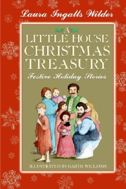A Little House Christmas Treasury: Festive Holiday Stories (Hardcover)