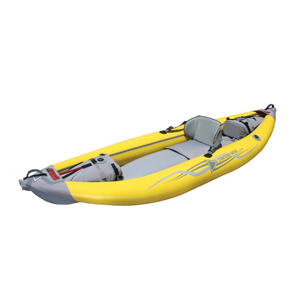 StraitEdge Yellow PVC Padded Seat Kayak 24469125