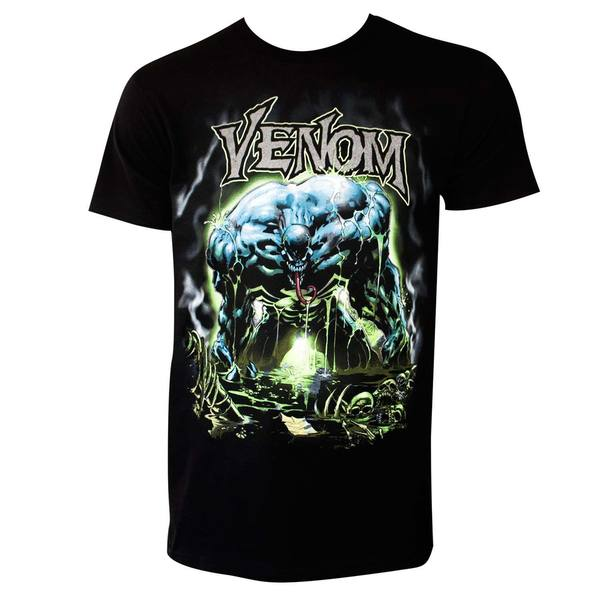 Spiderman Men's Venom Envenomated T-shirt 24500434