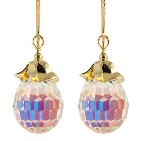 Ardent Designs Hyacinth Crystal Drop Earrings 24516085