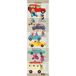 Oopsy Daisy Fun Street Frenzy Canvas Growth Charts 24536245