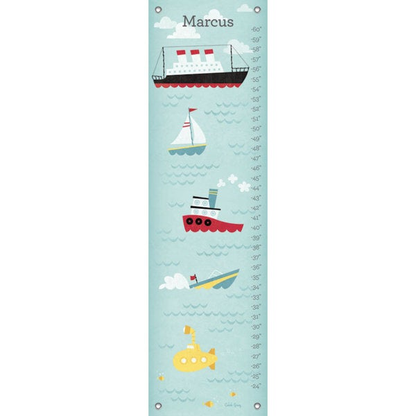 Oopsy Daisy Making Waves Canvas Growth Charts 24536633