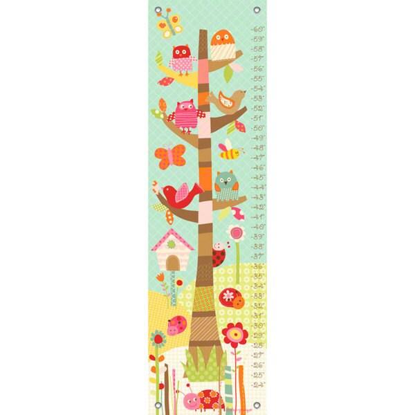 Oopsy Daisy Pretty Tree Canvas Growth Charts 24539331