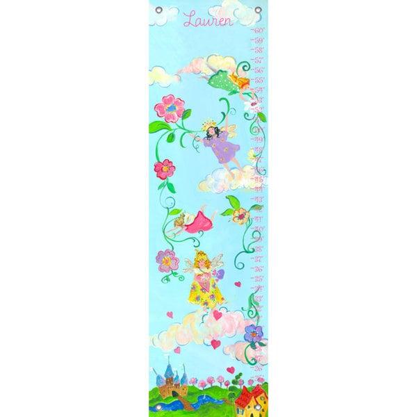 Oopsy Daisy Fairy Princess Canvas Growth Chart 24539353