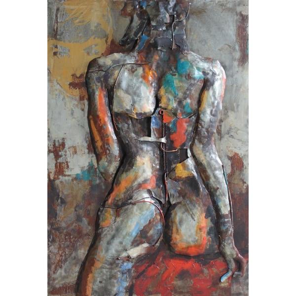 Empire Art 'Nude Study 1' Mixed Media Wall Sculpture 24540486