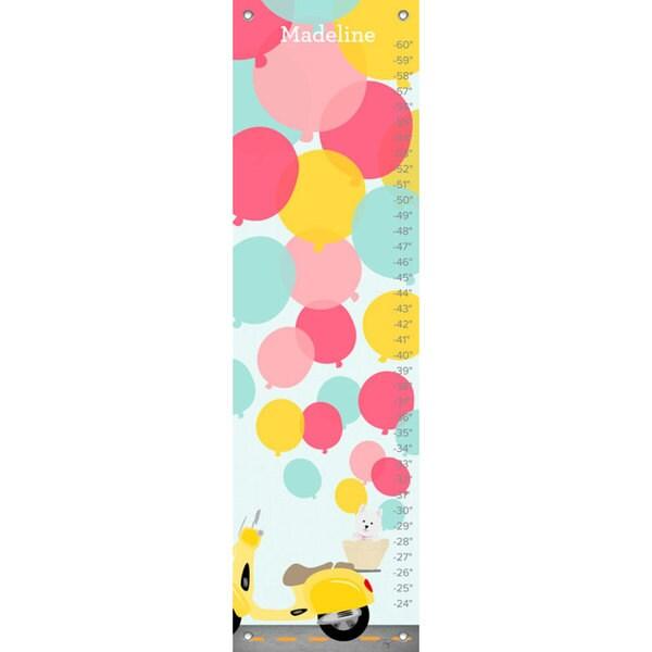 Oopsy Daisy Balloons Canvas Growth Chart 24541432