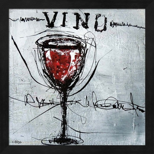 Annie Rodrigue 'Vino 9' Framed Art 24541882