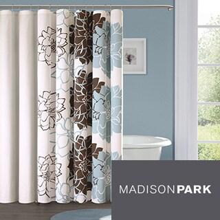 Madison Park Farrah Cotton Sateen Shower Curtain