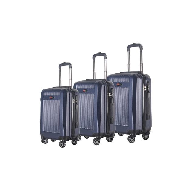 Brio Luggage 3-Piece Hardside Spinner Luggage Set 24559135
