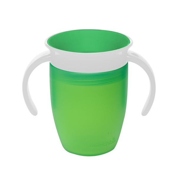 Munchkin Miracle Green 360-degree 7-ounce Toddler Trainer Cup 24565264