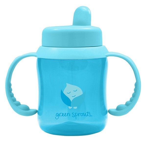 Green Sprouts Blue Flip-Top Sippy Cup 24565285