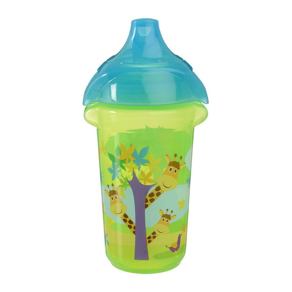 Munchkin Green Giraffe Click Lock Decorated 9-ounce Sippy Cup 24565352