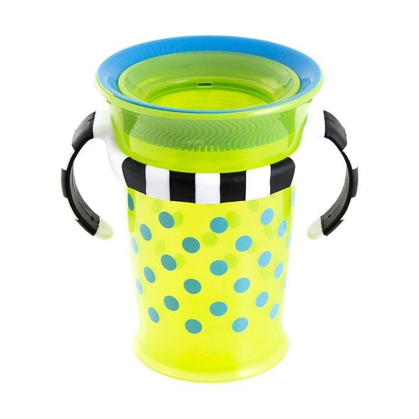 Sassy Green/Blue Grow Up No-Spill 7-ounce Trainer Cup 24565490