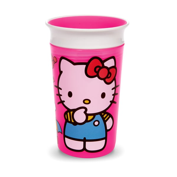 Munchkin Hello Kitty Miracle Pink Plastic 360-degree 9-ounce Sippy Cup 24565545