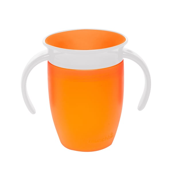 Munchkin Orange Miracle 360-degree 7-ounce Trainer Cup 24565597