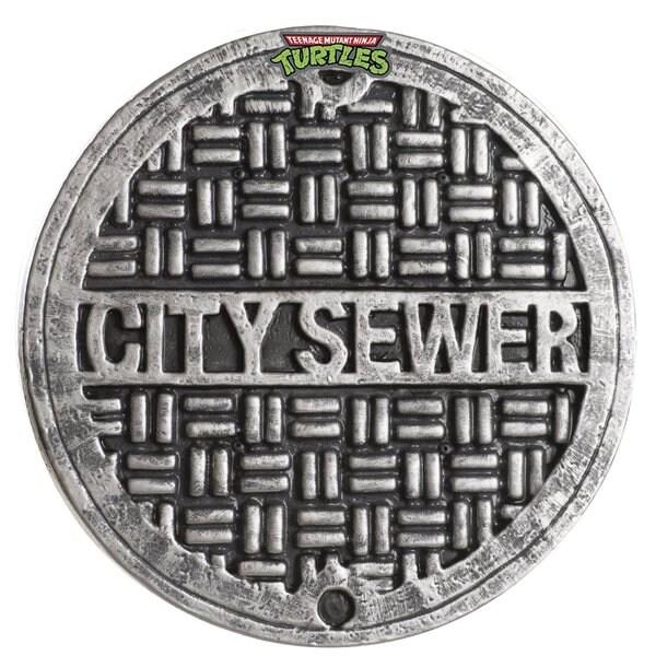 Teenage Mutant Ninja Turtles 12-inch City Sewer Cover Shield 24595209