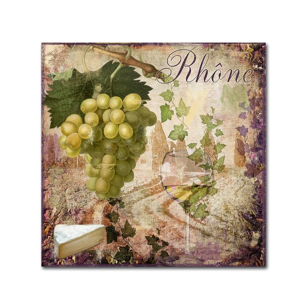 Color Bakery 'Wine Country VI' Canvas Art 24633288