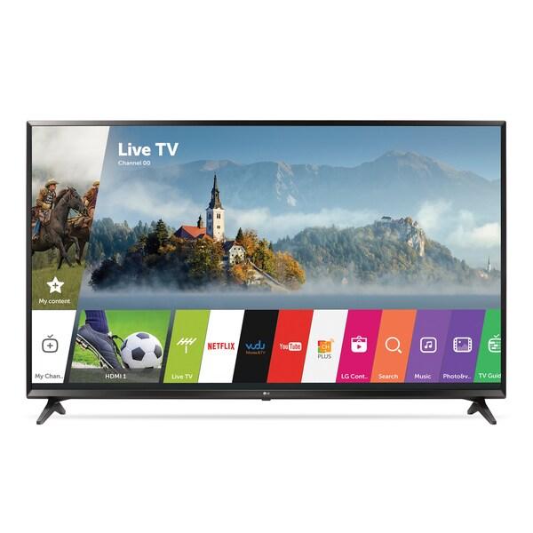"LG 55UJ6300 55"" Class Smart UJ6300 Series LED 4K UHD HDR TV With webOS 3.5   Bra"