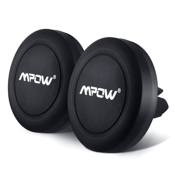 Mpow Universal Air Vent Magnetic Car Mount Holder for iPhone6s/6/6s Plus/6 Plus/ Galaxy S7 (2 Pack) 24674307