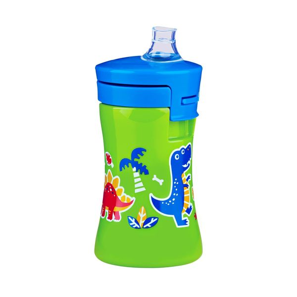 Nuk Green Dinosaur Gerber Graduates Advance 1-piece 10-ounce Sippy Cup 24674556