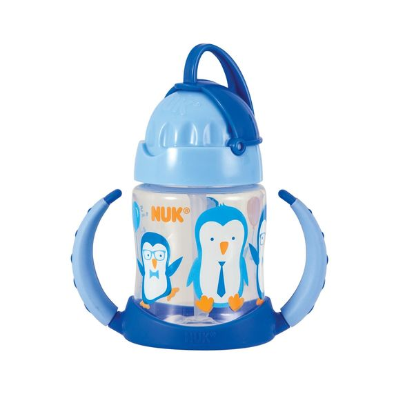 NUK Blue 5-ounce Straw Learner Cup 24674779
