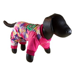 Petcessory Pink Cotton Camouflage Dog Parka Jacket